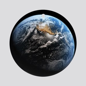 Planet Earth Ornament (Round)