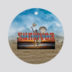 Survivor 2017 HHH Round Ornament