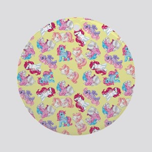 My Little Pony Retro Three Ponies Round Ornament