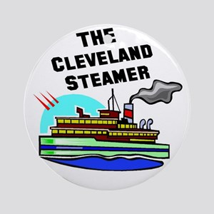 The Cleveland Steamer Ornament (Round)
