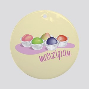 Marzipan Fruit 2 Ornament (Round)