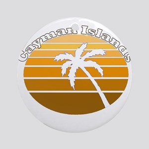 Cayman Islands Ornament (Round)