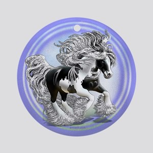 Gypsy Vanner Ornament (Round)