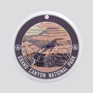Grand Canyon NP Ornament (Round)