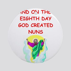 NUNS Ornament (Round)