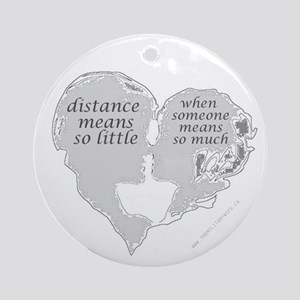 """Distance"" Collectible Ornament (Round)"