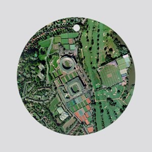 Wimbledon tennis complex, UK - Round Ornament