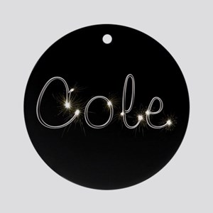 Cole Spark Ornament (Round)