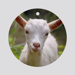 Baby goat Ornament (Round)