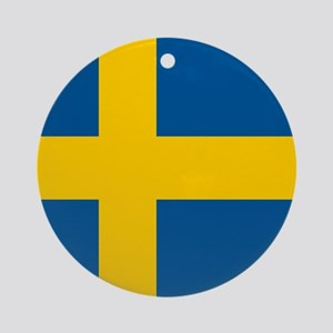Flag of Sweden Ornament (Round)