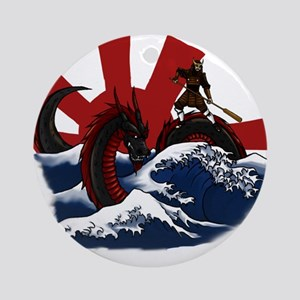 Ride the Dragon Ornament (Round)