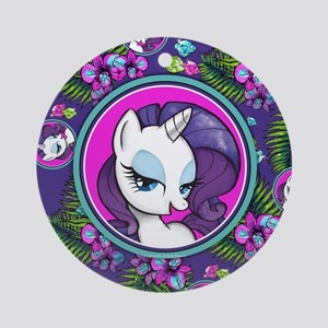 MLP Rarity Tropical Round Ornament