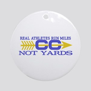 Real Athletes Ornament (Round)