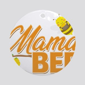 Mama Bee Save The Bees Gift Round Ornament