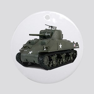 SHERMAN Round Ornament