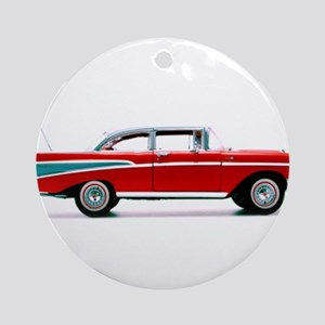 My 57 Chevy Round Ornament