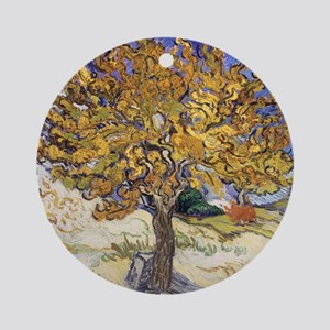 Mulberry Tree by Vincent Van Gogh Round Ornament