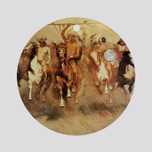 Best Seller Wild West Round Ornament
