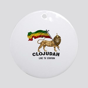 CLOJudah Lion Of Judah Ornament (Round)