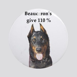 Beaucerons 110% Ornament (Round)
