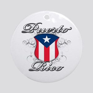 d1437a199 Puerto Rico Flag Ornaments - CafePress