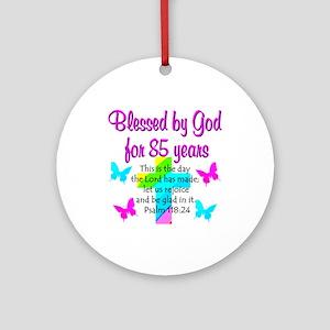 Ornaments 85th LOVE GOD Ornament Round