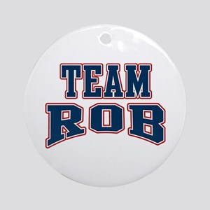 Team Rob Ornament (Round)