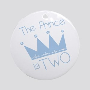 Prince I'm Two Ornament (Round)