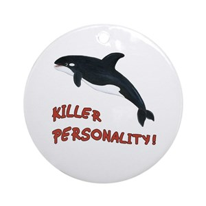 Whale - Personality Ornament (Round)