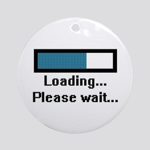 Loading... Please Wait... Ornament (Round)