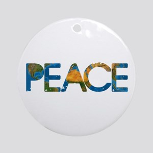 World Peace Ornament (Round)