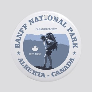 Banff National Park Ornament (Round)