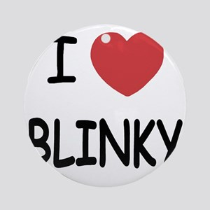 BLINKY Round Ornament