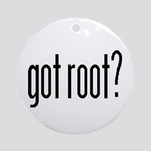 got root? Ornament (Round)
