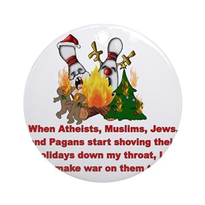 Atheist Christmas Ornaments - CafePress