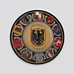 Germany Round Ornament