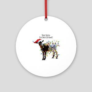Goat Christmas Ornament.Goat Ornaments Cafepress