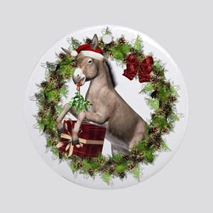 Donkey Christmas Ornaments.Donkey Christmas Ornaments Cafepress