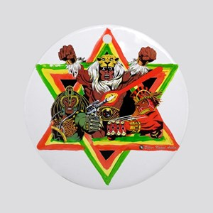 Rasta Trio Ornament (Round)