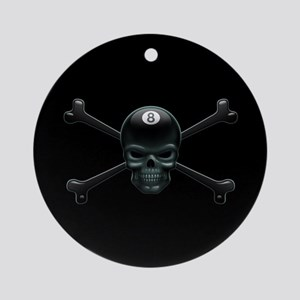 Pool Pirate III Ornament (Round)