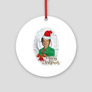 Hillary Clinton Christmas.Hillary Clinton Ornaments Cafepress