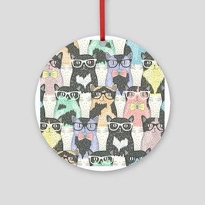 c5d29aa93e5f1 Hipster Cat Home   Decor - CafePress