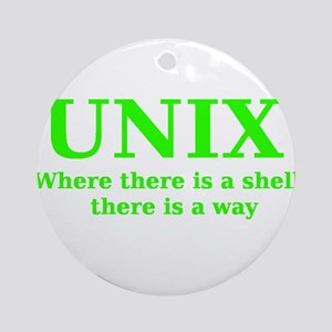Unix - Where there is a Shell, there is a Way Orna
