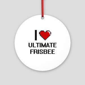 41e7709644d55 Ultimate Frisbee Ornaments - CafePress