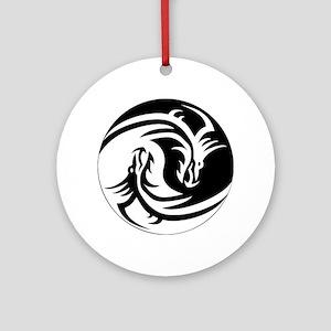4ce029dfa Yin Yang Tattoo Ornaments - CafePress