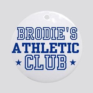 Brodie Ornament (Round)