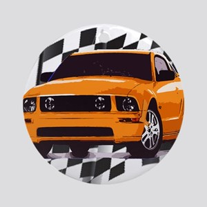 Mustang 2005 - 2009 Ornament (Round)