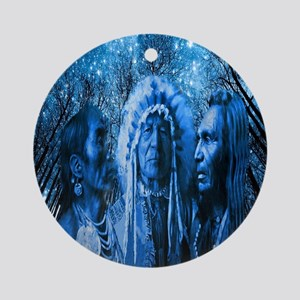 Three Chiefs Ornament (Round)