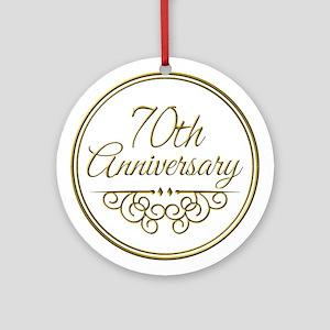 70th Wedding Anniversary.70th Wedding Anniversary Ornaments Cafepress
