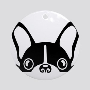 French Bulldog Round Ornament
